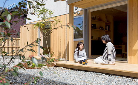 米子の注文住宅設計ウエノイエの家づくり事例